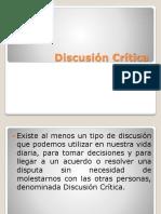 Discusión Crítica