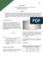 Informe Pendulo simpre lab fisica 3