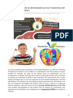 Desordenes de La Alimentación en Los Trastornos Del Espectro Del Autismo