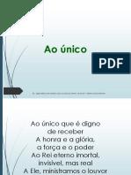 Ao Unico.pptx