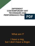 Technique and Medium