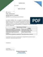 Cartas Empleados AutoPartes Ltda
