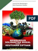 Gerakan APP Nasional 2018_ Membangun Solidaritas Sosial Demi Keutuhan Ciptaan _ Departemen Dokumentasi Dan Penerangan KWI