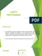 PARTO PRETÉRMINO.pptx