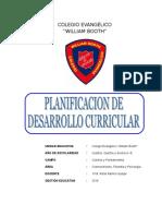 Plan Desarrollo Curricular 2