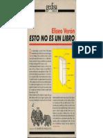 Eliseo Veron - Esto No Es Un Libro