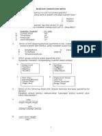 Kertas Ujian Mac Fizik Tingkatan 4