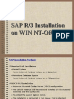 SAP Installation