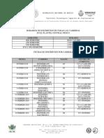 Horario de Inscripción Para Alumnos Regulares
