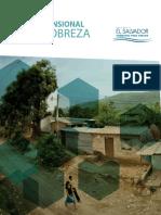 Medición Multidimensional de La Pobreza El Salvador