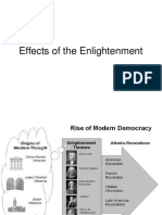 Effects of the Enlightnment