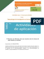 Actividad 2 - Primer Parte - Editable Ciencias Naturales