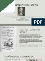 Diapositivas Rousseau, teoría del contrato social