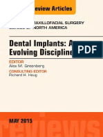 Dental Implants_An Evolving Discipline - An Issue of Oral and Maxillofacial Clinics of North America [the Clinics_Dentistry][UnitedVRG]