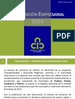Composicion Empresarial  2014