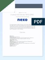 Cryptoque - NEXO Overview