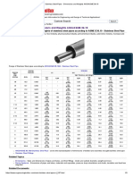 Stainless Steel Pipes - Dimensions and Weights ANSI_ASME 36