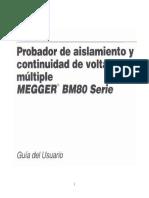 Manual Del Megger Digital