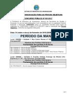 Local Da Prova Araraquara