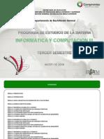 INFORMATICA Y COMPUTACIÓN III