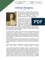Biografia Christian Huygens Mate