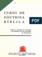 Curso de Doutrina Bíblica