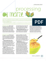 Agro Processing of Maize