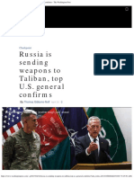 20170424 Russia is Sending Weapons to Taliban, Top U.S. General Confirms - The Washington Post
