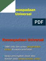 Kewaspadaan Universal & PEP1 Presentasi