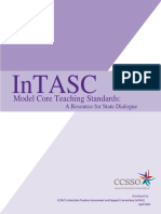 intasc model core teaching standards 2011 1