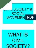 Civil Society and Social Movements