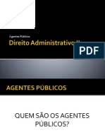 Agentes Públicos e Políticos