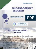 Desarrollo Endogeno y Exogeno