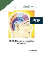 EBCC-Ética en Los Espacios Educativos