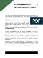 Partida Estrela Triangulo - Canal Mundo Da Elétrica