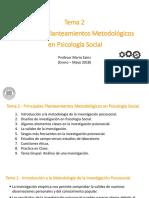 Tema 2 Métodología de La Investigación en PS (UDEM 2018)