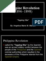 Philippine Revolution (1896–1898)