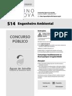 Prova Engenheiro Ambiental Águas de Joinville