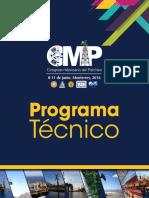 Congreso Mexicano Del Petroleo_ProgramaTecnico_2016