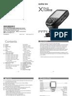Godox = XProS, XPro-S = Manual v2018-01-24