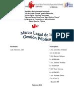 Marco Legal Gestion Publica