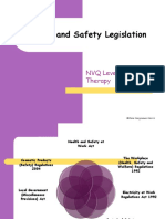 Health and Safety Legislation