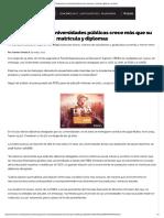 Presupuesto de Universidades Públicas Costa Rica