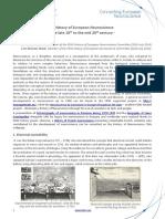 Short History of European Neuroscience