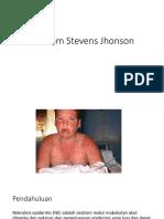 Sindrom Stevens Jhonson