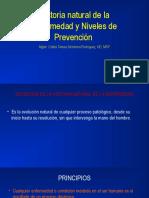 Clase 2 Historia Natural de La Enfermedad y Niveles de Prevencion (1)