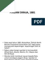 m2-Piagam Diraja, 1881