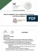 Presentación Impacto Ambiental Gen e.e.