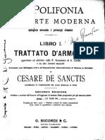DeSanctis, Cesare - La Polifonia Nell'Arte Moderna