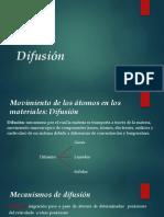 Difusión U1